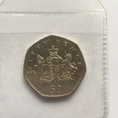 Christopher Ironside 2013 50p coin Fifty pence Coat of Arms British Coin Hunt