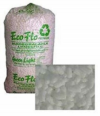BRAND NEW Cubic Foot Bag of FLOPAK Loose Fill Packing Peanuts / BEST QUALITY