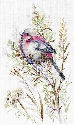 Counted Cross Stitch kit Russian Manufacture MP Studio Happy Birds Family Print