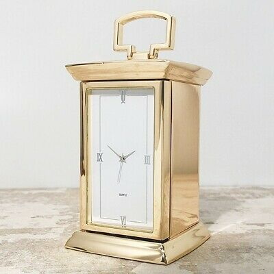 Mantel Carriage Clock - Silver or Gold Finish