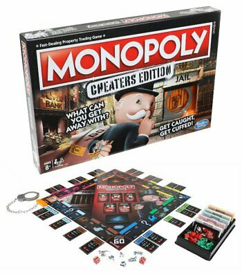 Monopoly Cheaters Edition NEW Family Board Game UK Seller Xmas Gift SAME DAY 1ST