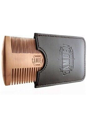 Camden Barbershop Company Ultralight Beard Comb Pearl Wood with Case