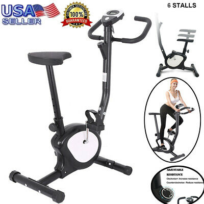 Pro Fitness Stationary Exercise Bike Cardio Indoor Cycling Bicycle Home & Office