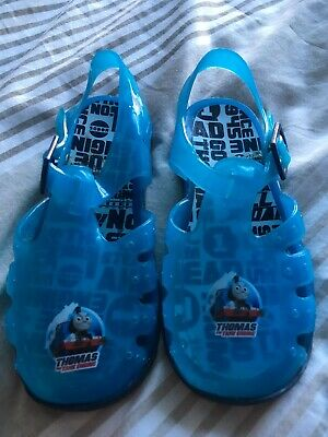 Thomas the Tank Engine JUNCTION Pvc Jelly Shoe//Sandal in Blue size 3,4,5,6,7,8,9