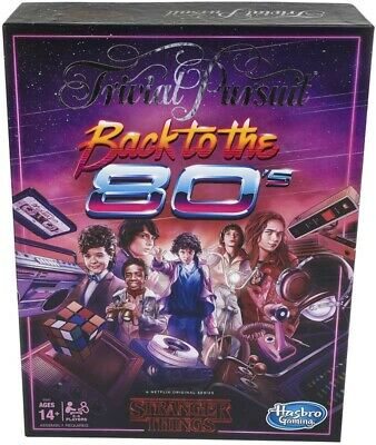 Hasbro Gaming Trivial Pursuit Netflix's Stranger Things Back to The 80s Edition