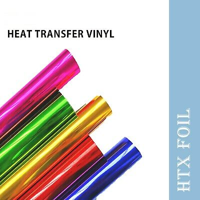 IRIS Heat Transfer Vinyl HTV for T-shirts Soft Foil 12 inches by 5 feet