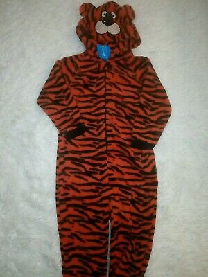 Bnwt Primark Essentials Tiger All In One Sleepsuit 3 Years