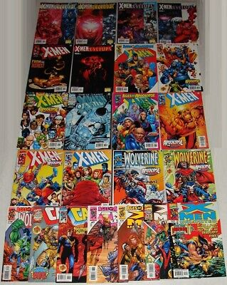 X-MEN AGE of APOCALYPSE the TWELVE 25 ISSUE COMIC SET COMPLETE + WOLVERINE CABLE
