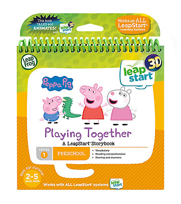 LeapFrog Leapstart Nursery: Peppa Pig Story Book 3D Enhanced