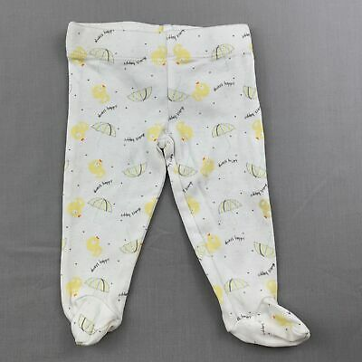 Girls,Boys size 00000, Tiny Little Wonders, soft cotton footed leggings, GUC