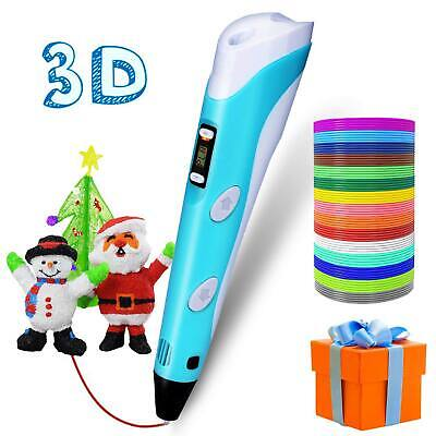 Low Temperature 3D Printing Pen USB Port PLA Crafting Drawing Doodler Kids Gift