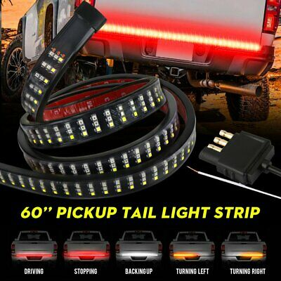 60 In Truck Suv Led Tailgate Light Strip W Signal Reverse