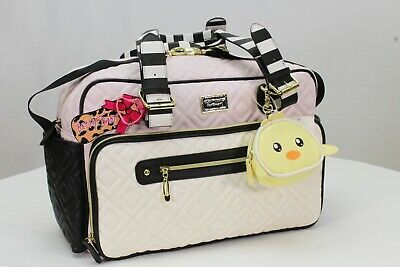 Betsey Johnson Diaper Bag Weekender