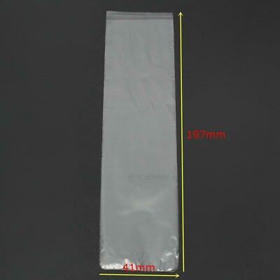 500Pcs Dental Lab Disposable Cover Plastic Sleeves For X Ray Sensor