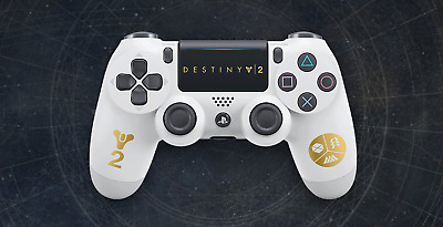 Official Sony PlayStation 4 DualShock 4 Wireless Controller Destiny 2 PS4 NEW