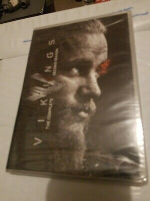 Vikings: The Complete Second Season (DVD, 2014, 3-Disc Set) New and Sealed