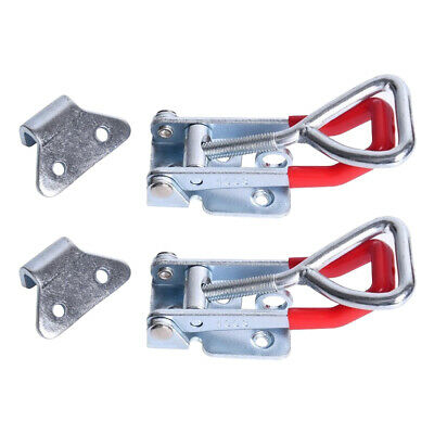 2pcs/Set 300Kg 660Lbs Quick-Release Lever Latch Heavy Duty Toggle Clamp Tools
