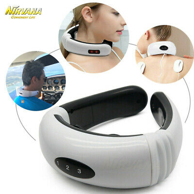 EMP Therapy Electric Cervical Neck Massager Body Shoulder Relax Pain Relieve