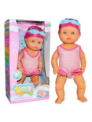 Art Cute Dolls Non-silicone Inedible Mini Decorations Play New Forces Swimming