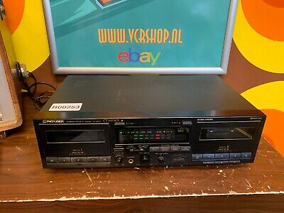 Pioneer CT-W530R - Stereo Double Cassette Deck - Vintage