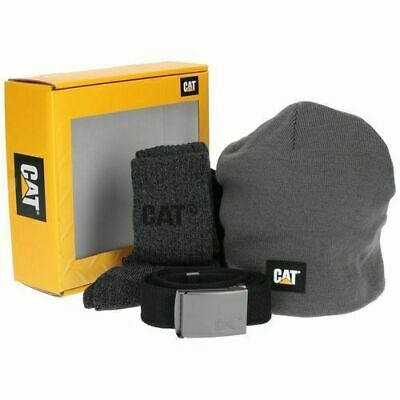 Caterpillar Cat Winter Gift Set.  Socks, Beanie Hat, And Belt