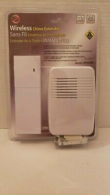 Heath Zenith Wireless Door Chime Extender SL-6157-D New & Sealed - FAST SHIPPING