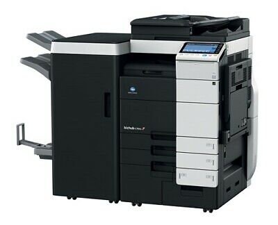 Konica Minolta Bizhub C754e color Copier Printer Scanner 75 ppm Fast! 131k