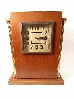 "Vintage Mantel Board Clock Soviet Striking Clock ""Vladimir"" Working Clock. USSR"