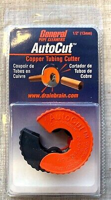 NEW  General Pipe Cleaners ATC12 1/2-Inch AutoCut Copper Tubing Cutter free s&h