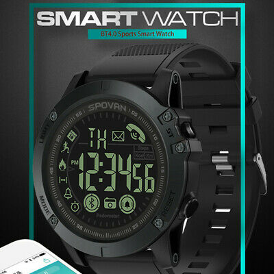 Waterproof Bluetooth Smart Watch Fitness Tracker Sport Pedometer for Android iOS