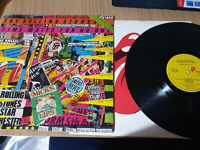 """The Rolling Stones - Time Waits For No One 12"""" Vinyl. Vg++ Sleeve..vinyl Poor."""