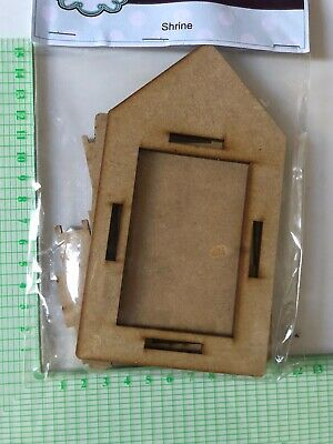 Creative Expressions MDF Shrine, Photo frame. New. Self Assembly