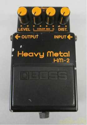 Excellent BOSS HM-2 Heavy Metal Distortion Electric Guitar Effects Pedal
