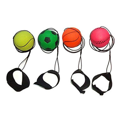 Football Kick Throw Trainer Solo Practice Training Aid Kids Control Skill LH