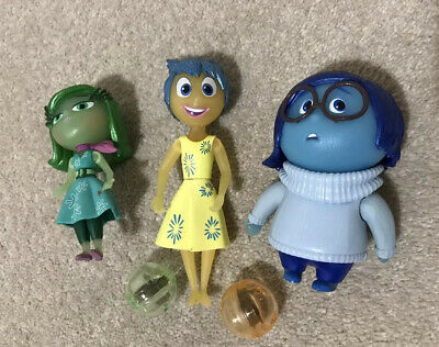 DISNEY INSIDE OUT SADNESS CHARACTER EMBROIDERED APPLIQUÉ PATCH SEW OR IRON #483