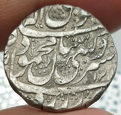 Afghan Durrani Empire Silver Rupee Mahmud Shah Kashmir Mint RY 1. Weight 10.7 gm