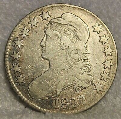1827 capped bust half dollar