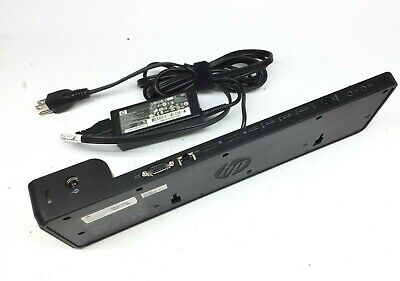 HP 2013 UltraSlim Docking Station Quest 2 Product 732517-001 65w AC adapter