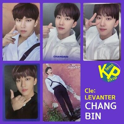 Stray Kids Cle: Levanter Official Photocard @ CHANGBIN Chang Bin