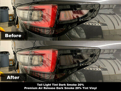 Crux Moto Dark Smoke Tail Light Tint fits Subaru Legacy 2020+