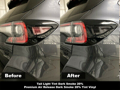 Crux Moto Tail Light Tint Overlay 20% Dark Smoke fits Subaru Outback 2020+
