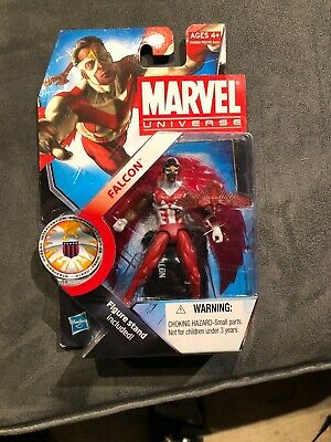 """2010 #013 New on Card! Series 3 Marvel Universe Falcon 3.75/"""""""