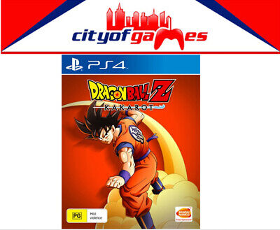 Dragon Ball Z Kakarot PS4 Game Brand New & Sealed In Stock