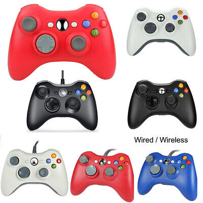 2 x Wired / Wireless Game Controller Gamepad for Microsoft Xbox 360 Windows PC