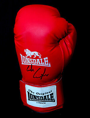 Luke Campbell Gold medalist Signed Boxing Glove