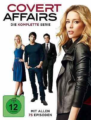 Covert Affairs Complete Series 1-5 DVD Collection Season 1 2 34 5 UK Compatible
