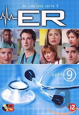 ER COMPLETE SERIES 9 DVD Nineth 9th Season Nine Original UK Release Brand NEW R2