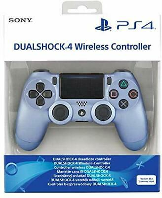 Official Sony PlayStation 4 DualShock 4 Wireless Controller Titanium Blue PS4
