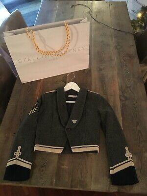 Stella McCartney Grey Military Jacket Age 10