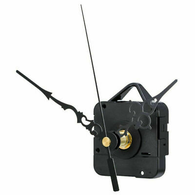 Black Replacement Quartz Wall Clock Movement Mechanism Motor DIY Repair Part Kit